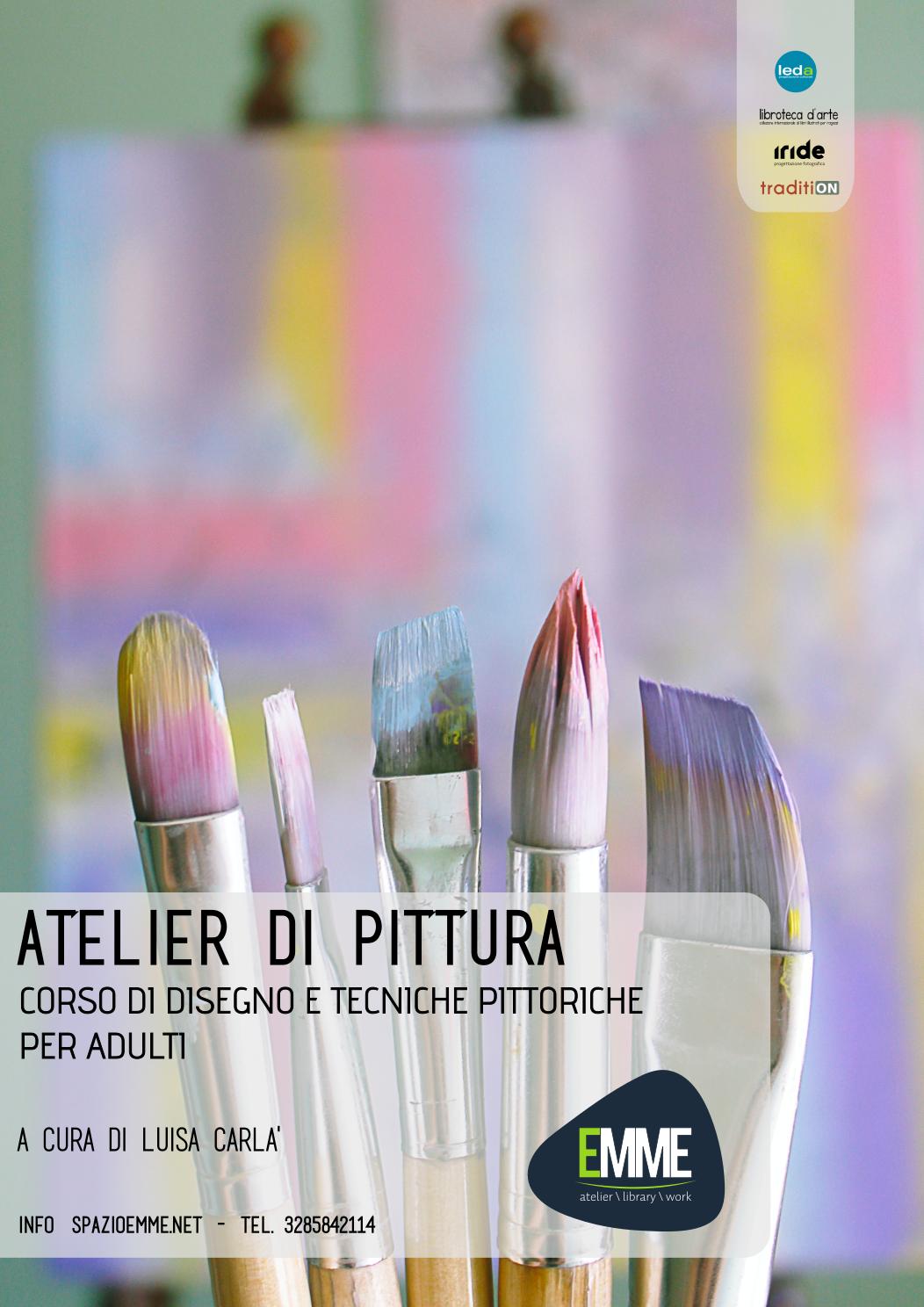 Corso di disegno e tecniche pittoriche