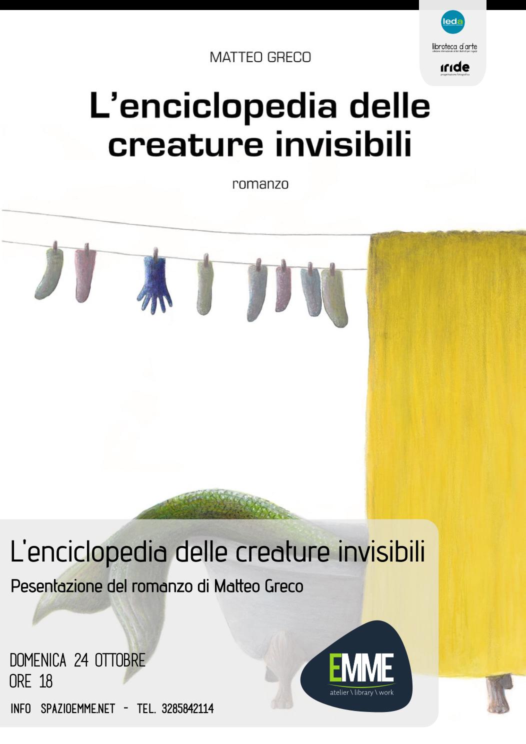 L'ENCICLOPEDIA DELLE CREATURE INVISIBILI