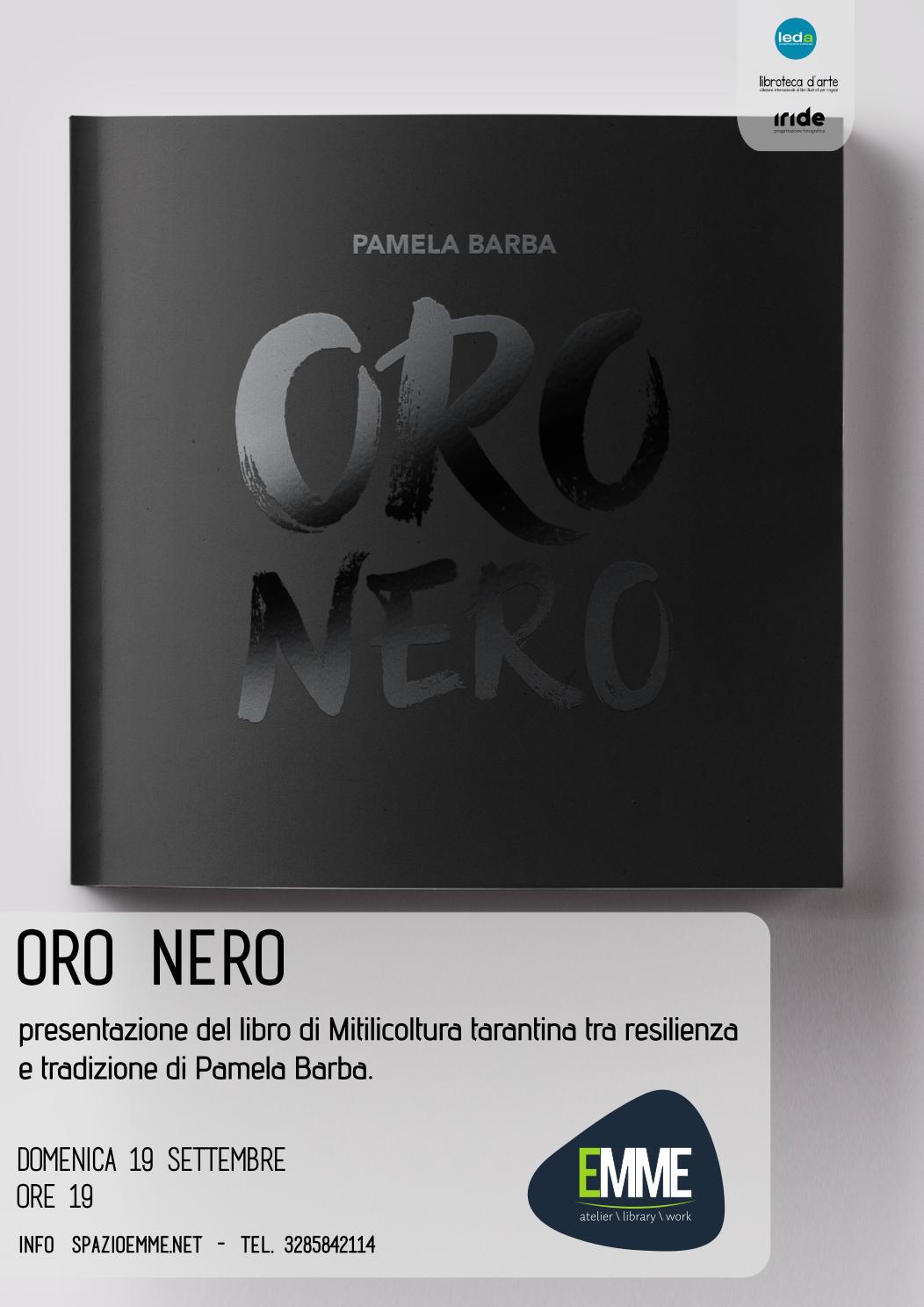 """Presentazione  del libro """"ORO NERO"""""""